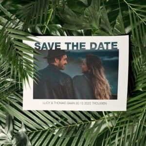 Save the date tekst - wat zet je op een save the date kaartje?